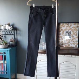 7 for all mankind black light wash jeans